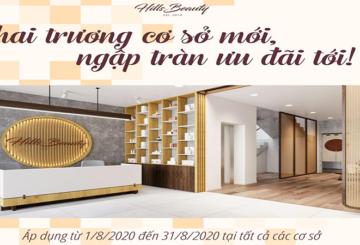 [Tin Mới Nhất] Khai trương cơ sở mới Hillsbeauty Nguyễn Tuân – Giảm giá 40%